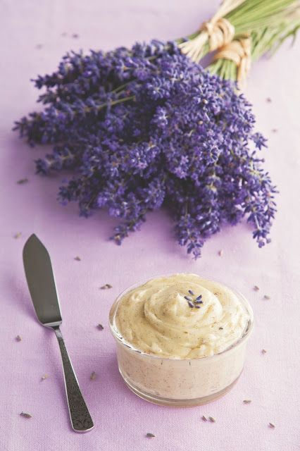 A Little Loveliness: Whipped Vanilla Bean Butter with Citrus and Lavender Variations!