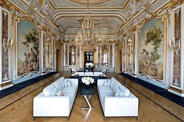 Rodear-se de afrescos do século 16 - Casa Vogue | Hotéis