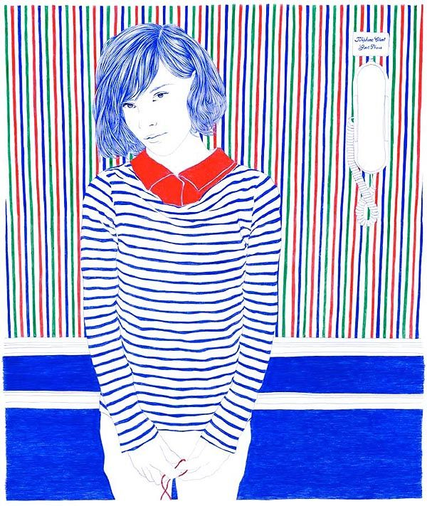 Illustrating Youth with a Ballpoint Pen   Carine Brancowitz