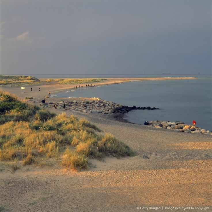 Grenen Beach, northernmost point, Skagen, where the quality of the light is beautiful.