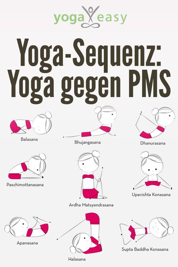 Yoga-Übungen gegen die Symptome von PMS – YogaEasy – dein Online-Yogastudio