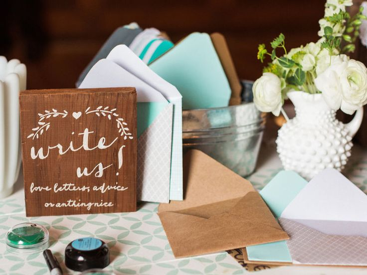 love letter guest book