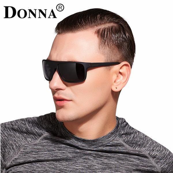 4d6a8e8ea22a FuzWeb DONNA Men Sunglasses Polarized Goggles Rectangle Men Sport Outdoor  Sunglass Mens Glasses Trends D59