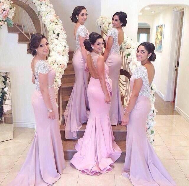 369 best Damas de honor en bodas images on Pinterest | Bridesmaids ...
