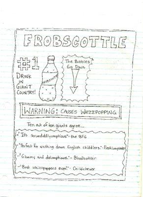 Frobscottle Ad, The BFG                                                                                                                                                     More