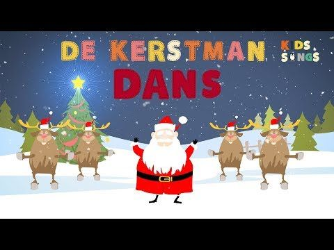 de kerstmandans | kerstliedjes | kids songs - youtube | rendieren
