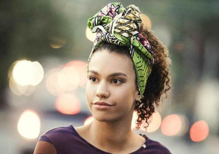 New Natural Hair Updos: Try These Styles At Home!Scarf Updo Make a fun vogue statement with a social group scarf. build a bow at the front to form your accent stand out.