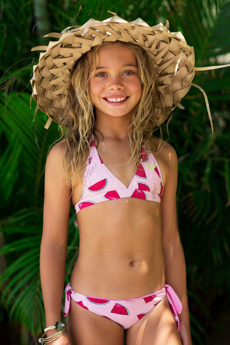 First bikini cute