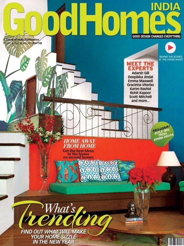 Good Homes January 2016 Issue- What's Trending: Find out  what will make your home Sizzle in the new year.  #GoodHomes #HomeDecor #HomeDesign #ebuildin