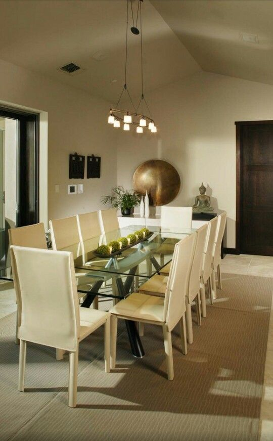 Cream gold dining area creamy tans golds neutrals for Black and cream dining room ideas