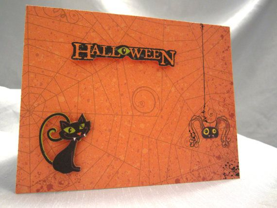Cute Little Spooky Mirror Image Black Cats by WistfulWhimsyDesigns