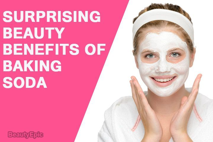 ef7bd56c4ab0 Baking soda effectively helps to exfoliate and brighten your skin helping  improve your skin complexion. Here are Surprising Beauty Benefits of Baking  Soda   ...