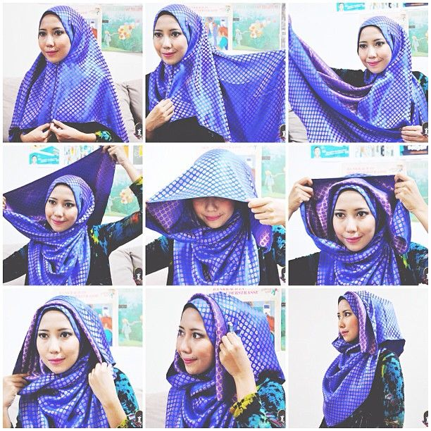 1437 Best Images About Hijab Tutorial On Pinterest