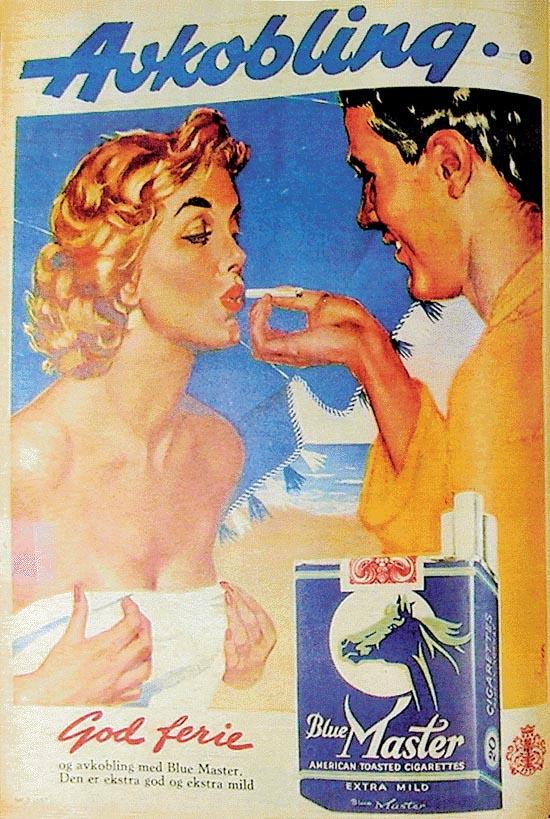 """En sigarett, et kjennetegn for """"God ferie"""""""