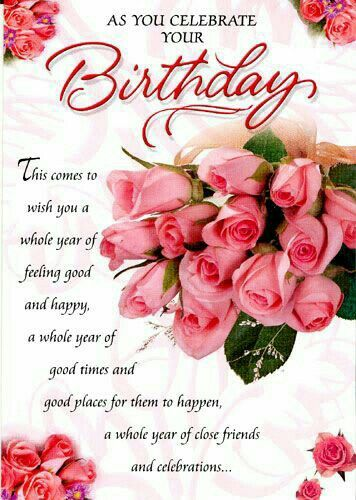 722 best birthday wishes images on Pinterest | Birthdays, Happy ...