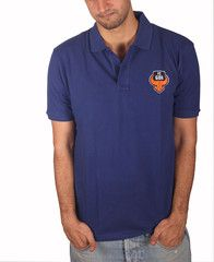 FC Goa 2015 – Blue Polo Men #Goa #TheFanStore #ISL #India #football #sports #Tshirt #gaon #Goa #IndianFootball #Orange #Blue #ForcaGoa