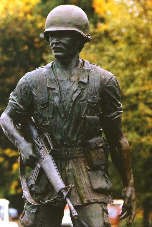Vietnam vfw monument sandy oregon bronze statue roger - Garden state veterinary services ...
