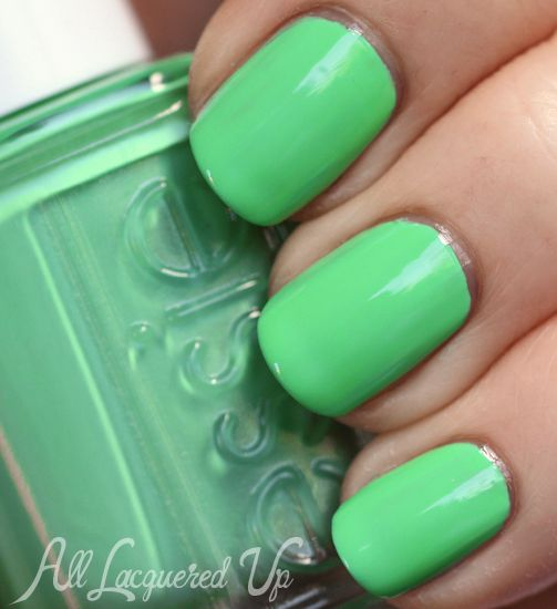 "Essie Resort 2013 ""In The Cab-ana"" Nail Polish Swatches"