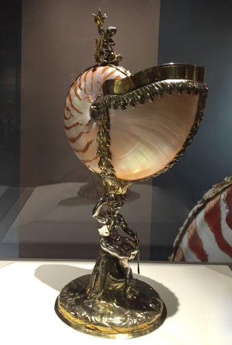 Nautile monté en hanap Berlin, Peter Bohrs Vers 1650 Argent, Vermeil, Coquille…