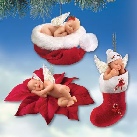 - Ёлочные игрушки Ангелы