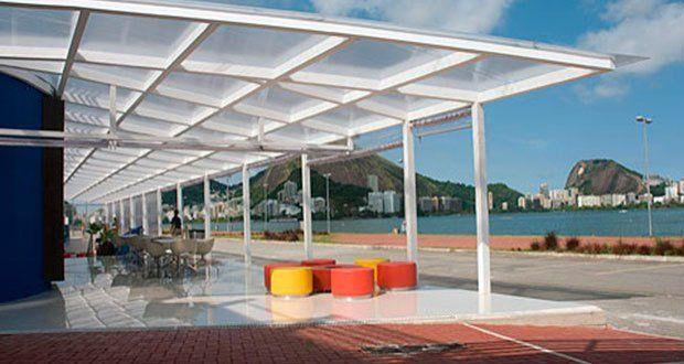Cinema com vista pra Lagoa <3