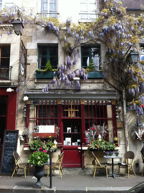 French Cafe...we could own one of these my love
