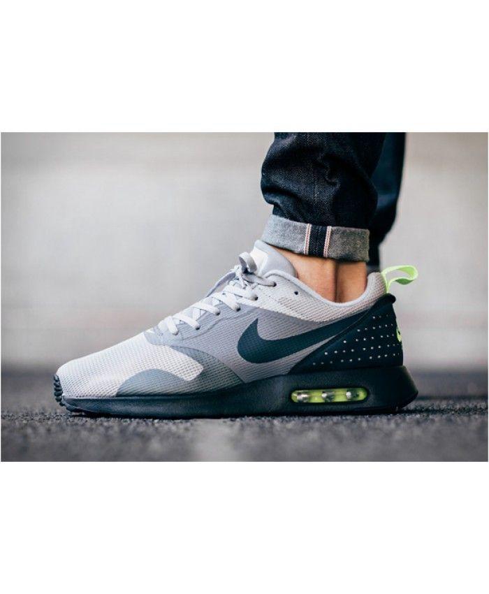 competitive price 9fba7 ee3d4 Nike Air Max Tavas Neon Grey Black Green