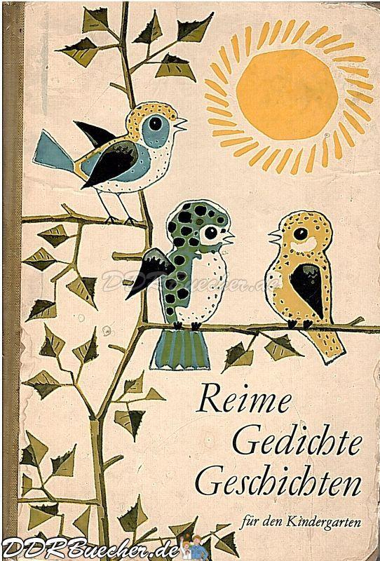 DDR Kinderbuch - Reime, Gedichte, Geschichten für den Kindergarten