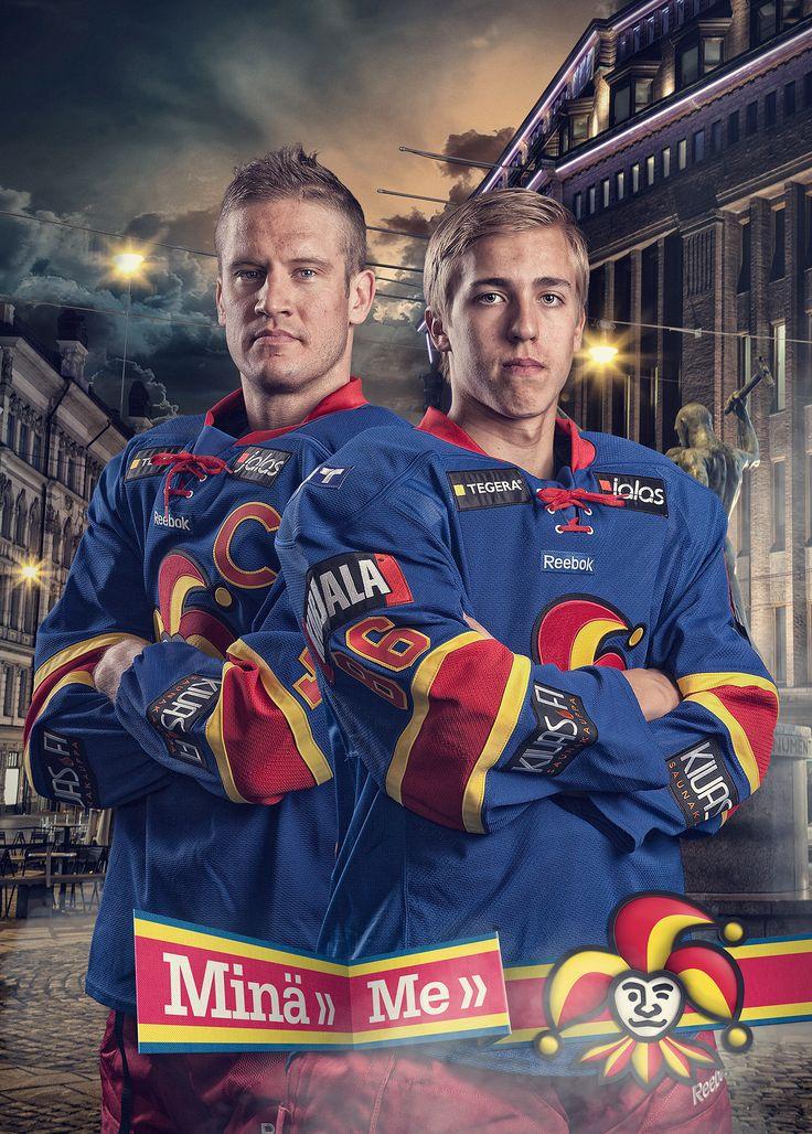 Sport Photography - Ice-hockey - Jokerit