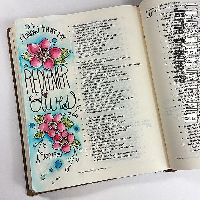 #biblejournaling Instagram photos | Websta // jaylynnscraps
