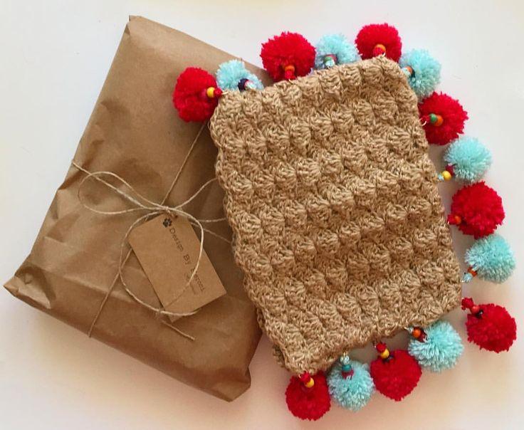 """34 Beğenme, 1 Yorum - Instagram'da Design by Feroni (@designbyferoni): """"@mihracezcnsnl kargonuz yola çıktı bile güzel günlerde kullanın  #designbyferoni #weareknitters…"""""""