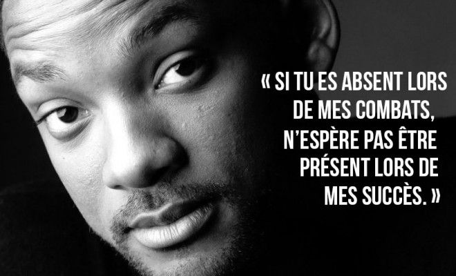 10 citations motivantes de Will Smith