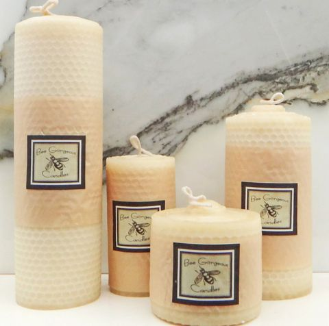 Bee Gorgeous Beeswax Candles – Shop U