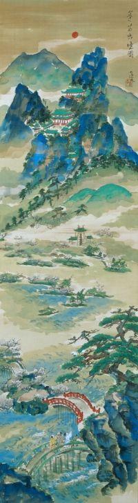 Tomita Keisen 富田渓仙 (1879-1936), Mount Horai, 1926.