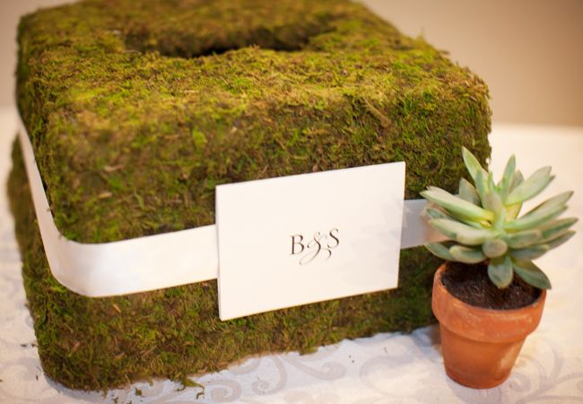 Lucky for you, most wedding guests come baring envelopes full of cash and checks rather than boxed gifts, so of course you want a cute card box to hold them all. Here are some unique card boxes that we just love. (Images via The Knot)