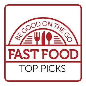 Top Fast-Food Picks for People with Diabetes   Diabetic Living Online (Most of these are higher carb than I consume for a meal for processed foods, but in a pinch these are some considerations.)