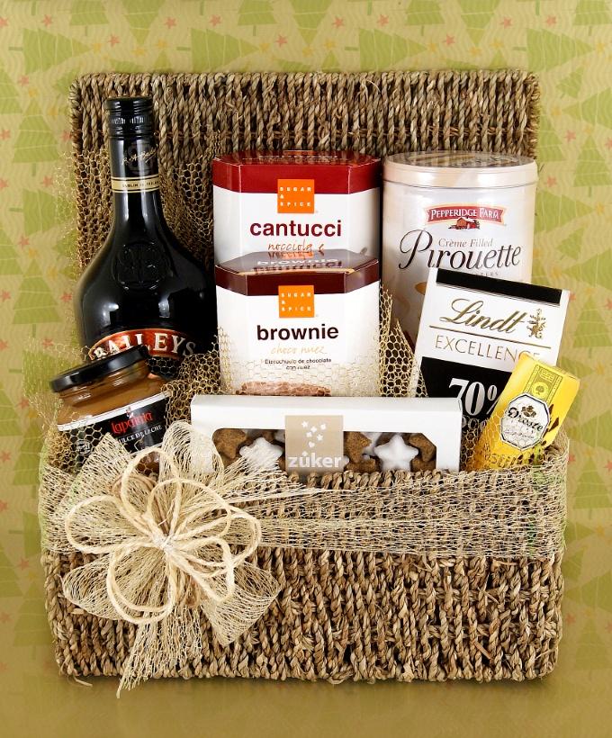Canasta Dulce Premium - Fiestas 2012 - Uruguay