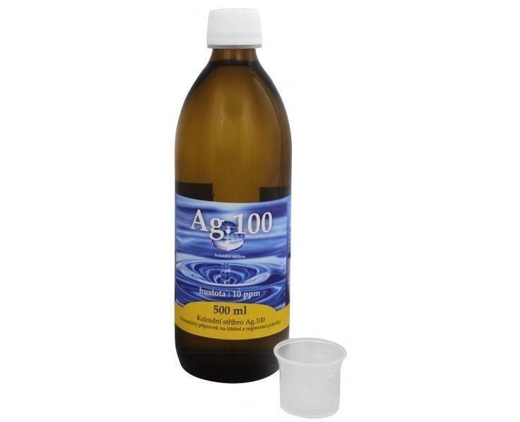 Aurum Koloidní stříbro Ag100 (10ppm)