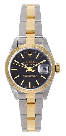 Rolex Oyster Perpetual Datejust Ladies 2-Tone Automatic Watch 79173