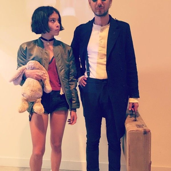 "What a cool Halloween costume idea!! ""Leon"" is one of my all-time favorite movies!"