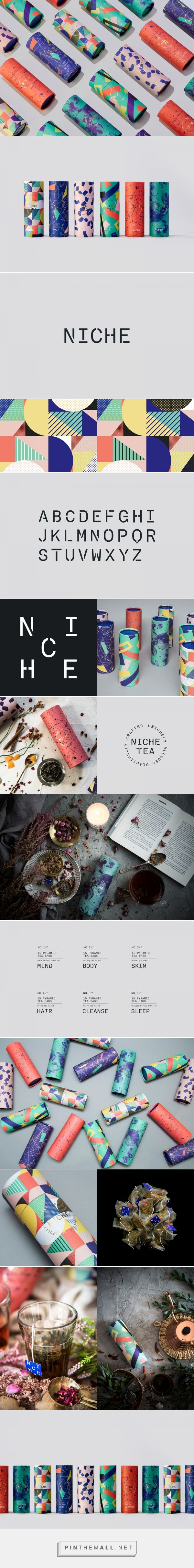 NICHE Tea on Behance - created via https://pinthemall.net