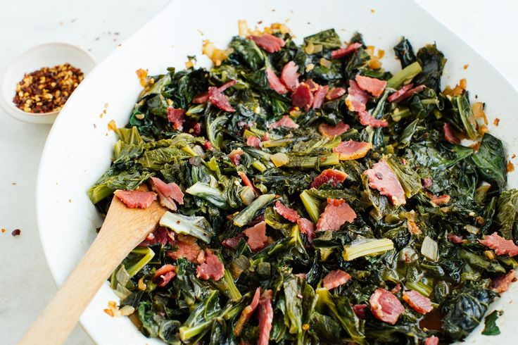 Recipe: Southern Greens and Biscuits — Southern Food Recipes