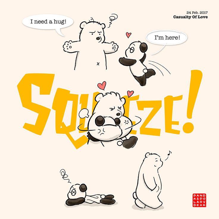 Panda bounces back in 3, 2... :P Happy Weekends!