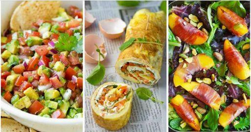 20 idee di piatti con meno di 300 calorie