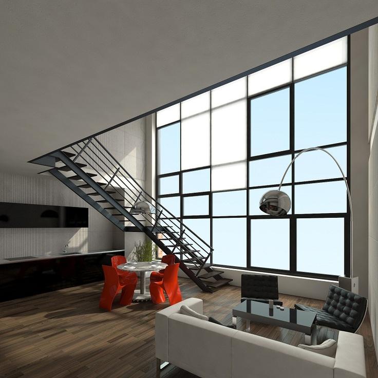 #Lofts, Ząbkowska St by @Koneser #interior