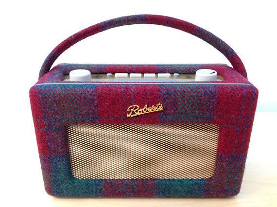 Harris Tweed Roberts Revival RD60 DAB Radio  Christmas