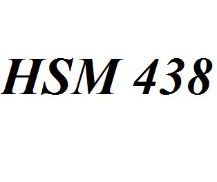 HSM 438 Entire Class Course Answers Here: http://www.scribd.com/collections/4308086/HSM-438