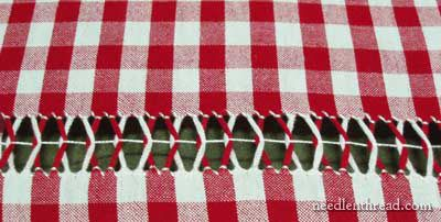 Drawn Thread on Gingham: Tutorial – Needle'nThread.com
