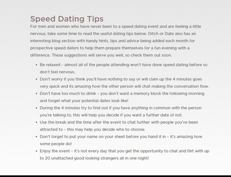 24 best speed dating images on pinterest speed dating date night questions and date nights. Black Bedroom Furniture Sets. Home Design Ideas