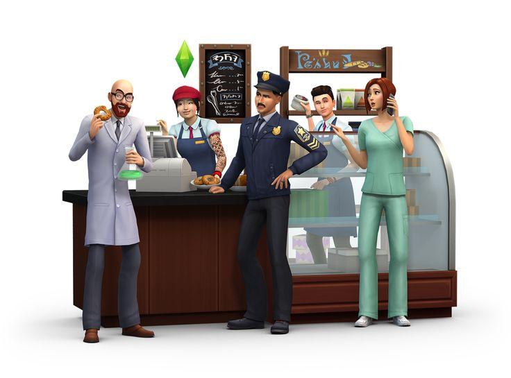 Intimately Curious Latrine: Sims 4: Get to Work